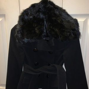 Women's Bebe XS wool coat